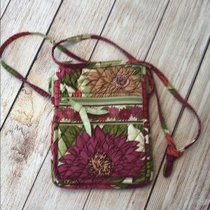 Vera Bradley small crossbody purse bag